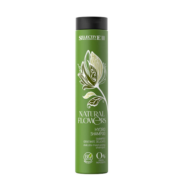 Selective Natural Flowers Hydro Shampoo Bio | updo.gr (Αντιπροσωπεία Selective Ελλάδος/Κύπρου)