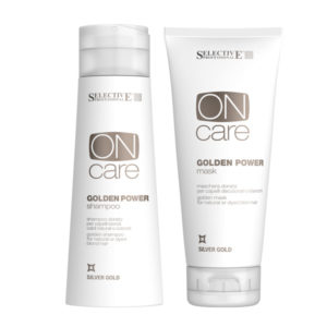 Selective Golden Power Shampoo & Mask
