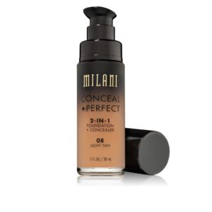 Conceal & Perfect 2 in1 Liquid Make Up (08 Light Tan)