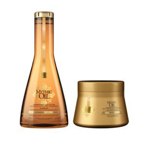 Mythic Oil Set Μάσκα & Δώρο Shampoo για λεπτά μαλλιά