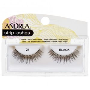 Andrea Strip Lashes – 21 Black