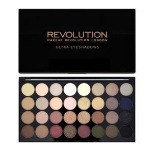 Revolution Ultra 32 Shade Eyeshadow Palette – Flawless