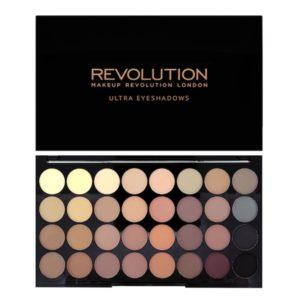 Revolution Ultra 32 Shade Eyeshadow Palette – Flawless Matte