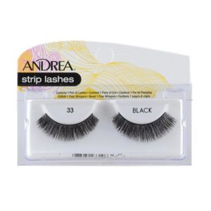 Andrea Strip Lashes – 33 Black