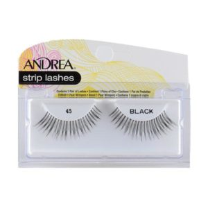 Andrea Strip Lashes – 45 Black