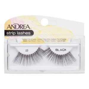 Andrea Strip Lashes – 23 Black