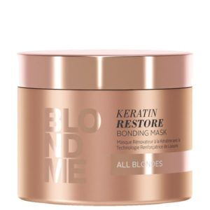 Blondme Keratin Restore Bonding Mask 200ml (Όλα τα Ξανθά)