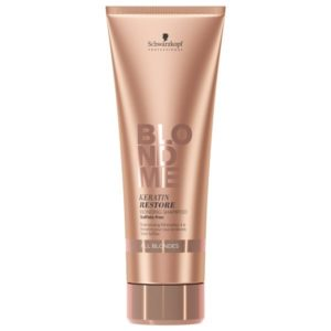 Blondme Keratin Restore Bonding Shampoo 250ml (Όλα τα Ξανθά)