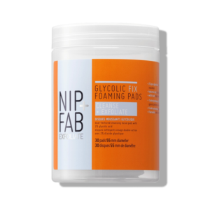 Nip + Fab Glycolic Fix Foaming Pads 30pcs