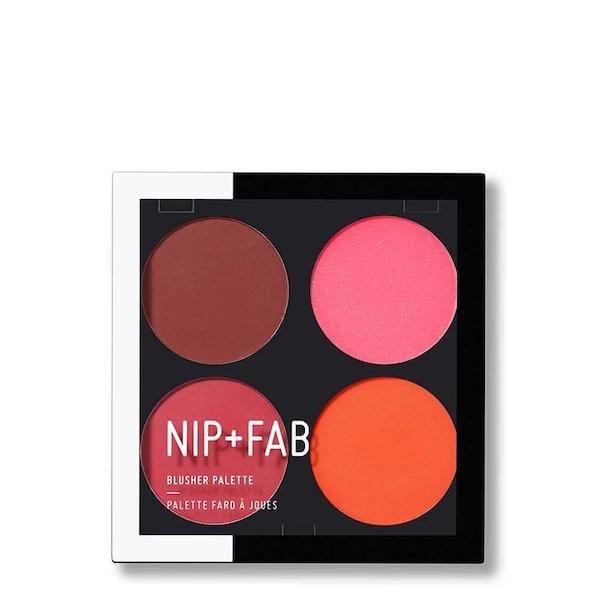 Nip + Fab Blusher Palette Blusher Brights 4×3,8g | updo.gr