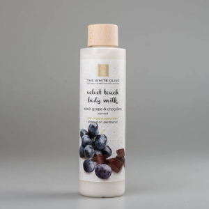 The White Olive Body Milk Black Grape & Chocolate 250ml