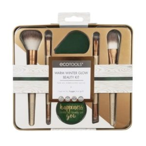 Eco Tools Warm Winter Glow Beauty Kit Σετ Πινέλων