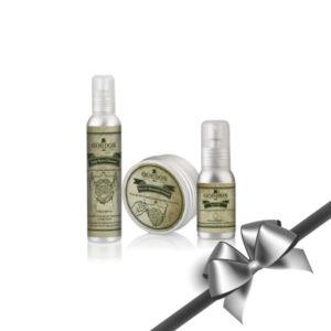 Gordon Xmas Beard Care Gift (Cleanser,Pomade,Oil)