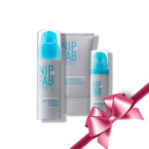 Nip+Fab No Needle Xmas Gift Set (Serum,Moisturizer,Eye Cream)