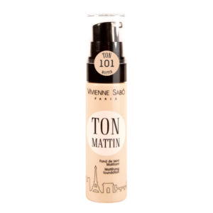 Vivienne Sabo Ton Mattin Mattifying Foundation 25ml (3 αποχρώσεις)